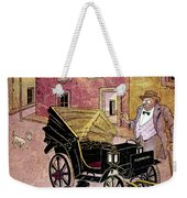 Mexico: Political Cartoon Weekender Tote Bag