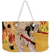 Mexico: Political Cartoon Weekender Tote Bag by Granger