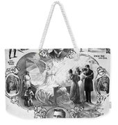 Uncle Tom's Cabin, C1899 Weekender Tote Bag