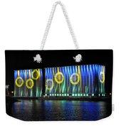 011 Grain Elevators Light Show 2015 Weekender Tote Bag