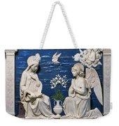Della Robbia: Annunciation Weekender Tote Bag