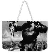 King Kong, 1976 Weekender Tote Bag
