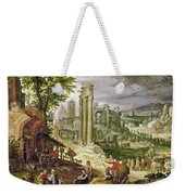 Roman Forum, 16th Century Weekender Tote Bag