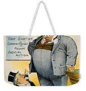 William Howard Taft Weekender Tote Bag