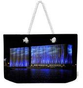 013 Grain Elevators Light Show 2015 Weekender Tote Bag