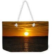 014 Sunset 16mar16 Weekender Tote Bag