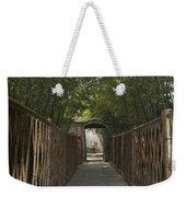 0171- Bamboo Walkway Weekender Tote Bag
