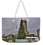 02 Happy Holidays From First Niagara Weekender Tote Bag