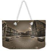 02 Plaza Of Stars Sepia Tone  Weekender Tote Bag