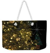02 Xmas Trees At Canalside And Seneca One Tower Dec2015 Weekender Tote Bag