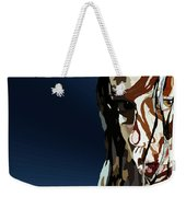 028. Bullet In The Brain Pan Squish Weekender Tote Bag