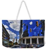 03 W Chipp And Delaware Construction  Weekender Tote Bag