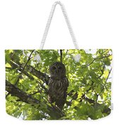 0313-010 - Barred Owl Weekender Tote Bag