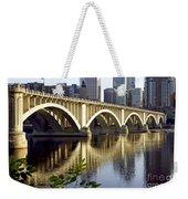 0333 3rd Avenue Bridge Minneapolis Weekender Tote Bag