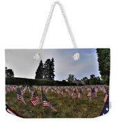 04 Flags For Fallen Soldiers Of Sep 11 Weekender Tote Bag