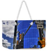 04 W Chipp And Delaware Construction  Weekender Tote Bag