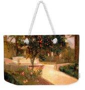 Garden Alcazar Seville Weekender Tote Bag