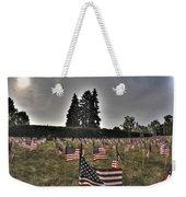 05 Flags For Fallen Soldiers Of Sep 11 Weekender Tote Bag