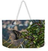 0518- Butterfly Weekender Tote Bag