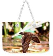 0518 - Northern Rough-winged Swallow Weekender Tote Bag