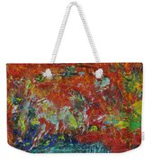 057 Abstract Thought Weekender Tote Bag