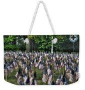 06 Flags For Fallen Soldiers Of Sep 11 Weekender Tote Bag