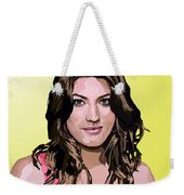 061. Take A Bullet And Suddenly You're Everyone's Best Friend Weekender Tote Bag