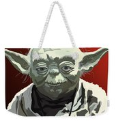 068. Do Or Do Not. There Is No Try Weekender Tote Bag by Tam Hazlewood
