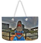 07 Shark Girl Weekender Tote Bag