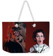 070. Naughty Wookie Weekender Tote Bag by Tam Hazlewood