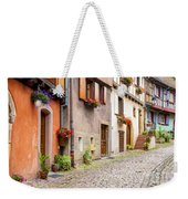 Half-timbered House Of Eguisheim, Alsace, France Weekender Tote Bag