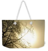 08 Foggy Sunday Sunrise Weekender Tote Bag
