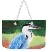 08282016 Female Blue Heron Weekender Tote Bag