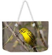 0839 -yellow Warbler Weekender Tote Bag