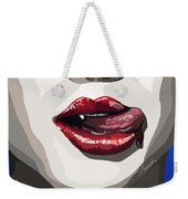 085. Quick Drink Before The Wound Closes Weekender Tote Bag