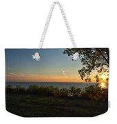 0874- Lake Michigan Sunset Weekender Tote Bag