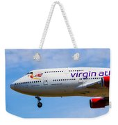 A Virgin Atlantic Boeing 747 Weekender Tote Bag