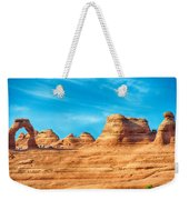 Famous Delicate Arch In Arches National Park Weekender Tote Bag