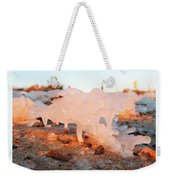 1-1-18--5783 Don't Drop The Crystal Ball Weekender Tote Bag