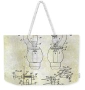 1902 Watchmakers Lathes Patent Weekender Tote Bag