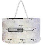 1920 Paring Knife Patent Weekender Tote Bag