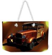1929 Ford Model A Woody Weekender Tote Bag