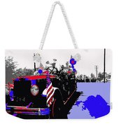 1930 American Lafrance Fire Truck Pro-viet Nam War March Tucson Arizona 1970 Color Added Weekender Tote Bag