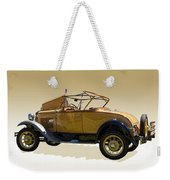 1930 Model A Ford Convertible Weekender Tote Bag