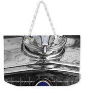 1931 Chevrolet Hood Ornament Weekender Tote Bag