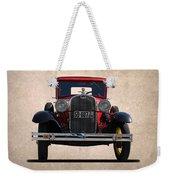 1931 Ford Model A  Weekender Tote Bag