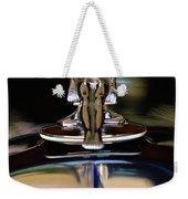 1934 Packard Hood Ornament 3 Weekender Tote Bag