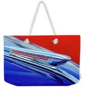 1938 Chevrolet Hood Ornament 2 Weekender Tote Bag