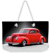1938 Ford Five-window Coupe II Weekender Tote Bag