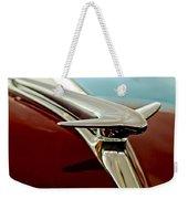 1938 Lincoln Zephyr Hood Ornament Weekender Tote Bag